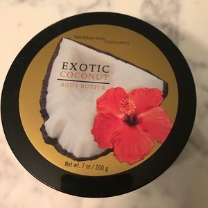 Brand New Exotic Coconut Body Butter